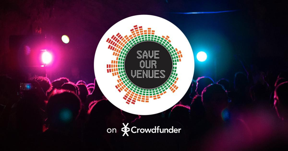Save Our Venues logo